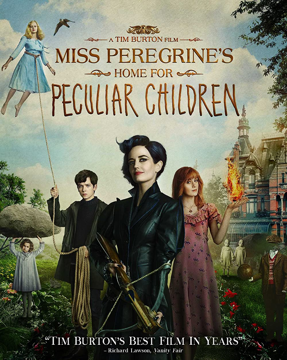 Miss Peregrine's Home for Peculiar Children 2016 Hindi Dual Audio 450MB BluRay 480p ESubs Download