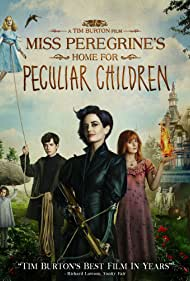 Eva Green, Asa Butterfield, Ella Purnell, Pixie Davies, Lauren McCrostie, Cameron King, Thomas Odwell, and Joseph Odwell in Miss Peregrine's Home for Peculiar Children (2016)