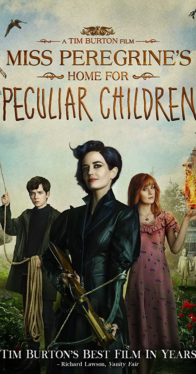 Play or Watch Movies for free Miss Peregrine's Home for Peculiar Children (2016)