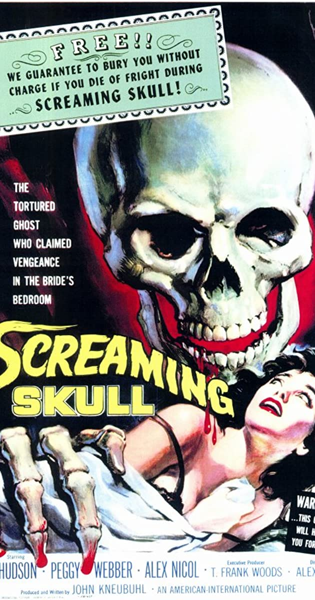 Subtitle of The Screaming Skull