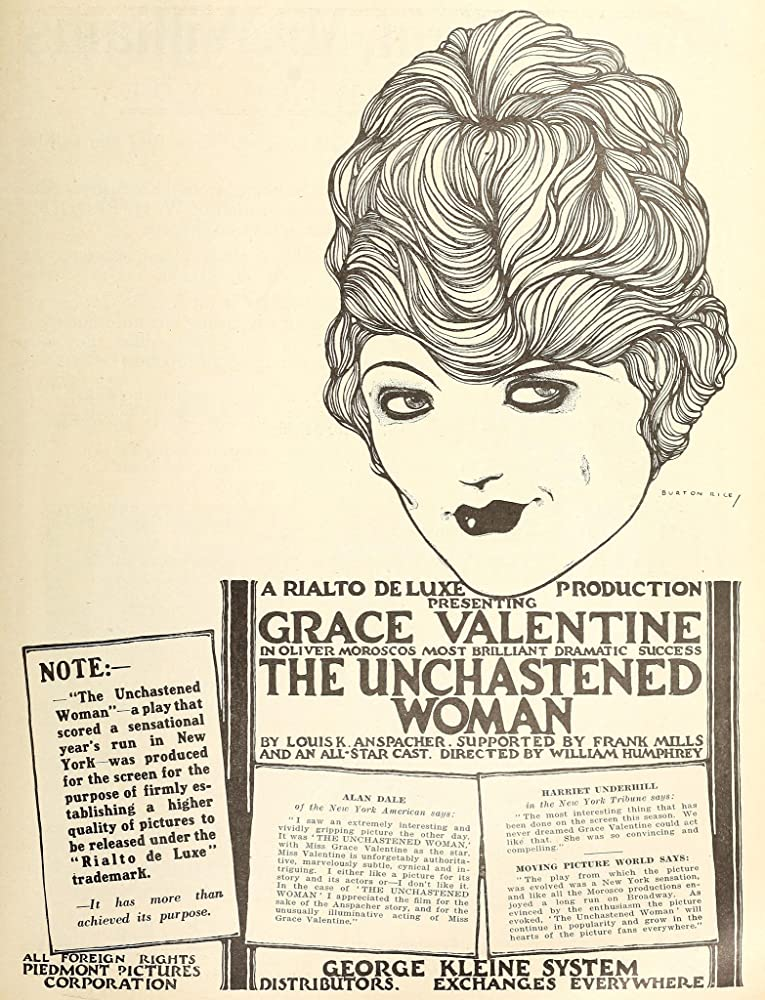 The Unchastened Woman (1918)