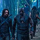 Kevin Grevioux and Michael Sheen in Underworld: Rise of the Lycans (2009)