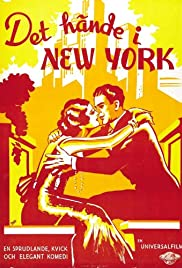 It Happened in New York Poster