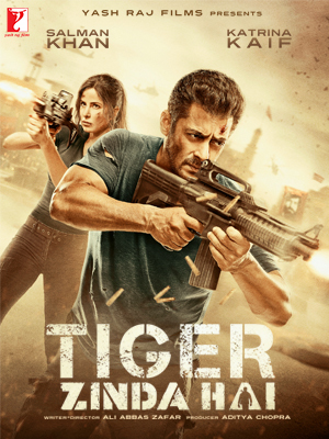 Tiger Zinda Hai (2017) Hindi 720p WEBRip H264 AAC 1.3GB ESub