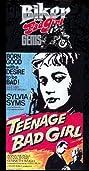 Teenage Bad Girl (1956) Poster