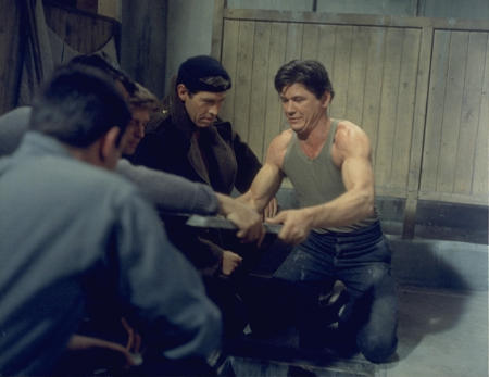 The Great Escape Charles Bronson Film Scene POSTER