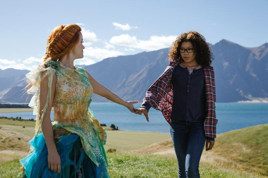Reese Witherspoon and Storm Reid in A Wrinkle in Time (2018)