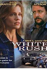 Judd Nelson, Louis Mandylor, and Tricia Helfer in White Rush (2003)