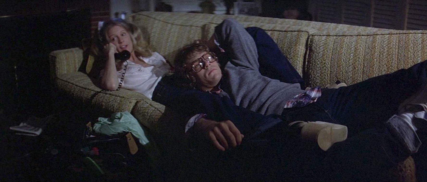 P.J. Soles and John Michael Graham in Halloween (1978)