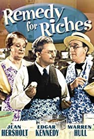 Walter Catlett, Maude Eburne, and Jean Hersholt in Remedy for Riches (1940)