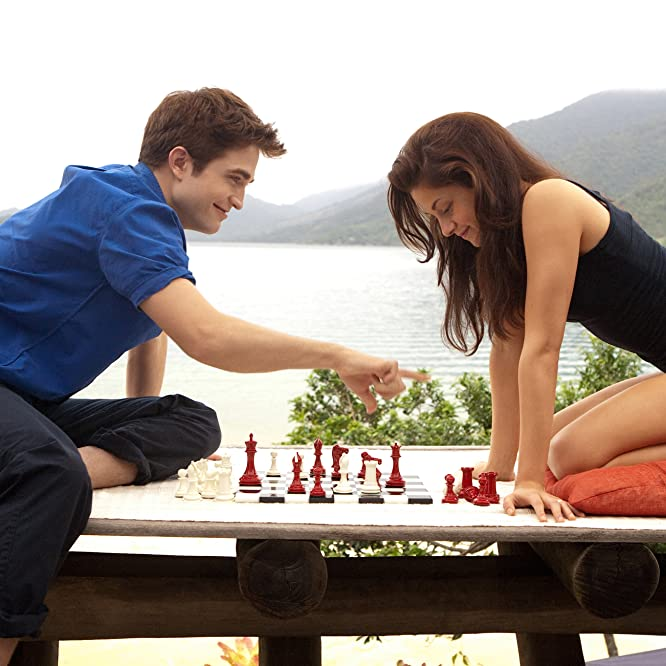 Kristen Stewart and Robert Pattinson in The Twilight Saga: Breaking Dawn - Part 1 (2011)