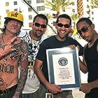 "Tommy Lee, Matthew Hobin, Ian Mallitz, Chris ""Ludacris"" Bridges Guinness Book World Record for The Worlds Largest Shower: Las Vegas, NV 2008"