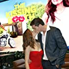 Joey King and Jacob Elordi at an event for The Kissing Booth (2018)