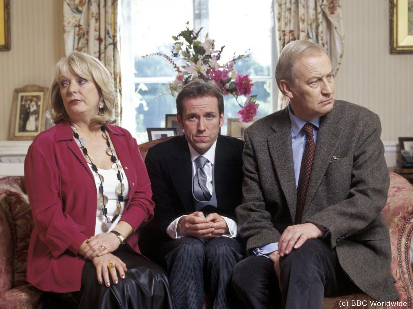 Ben Miller, Alison Steadman, and Geoffrey Whitehead in The Worst Week of My Life (2004)