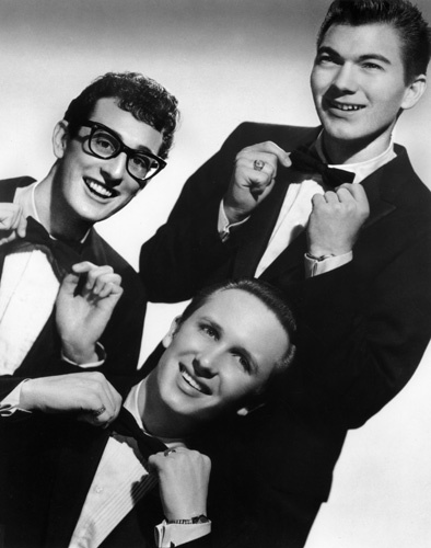 Jerry Allison, Buddy Holly, and The Crickets