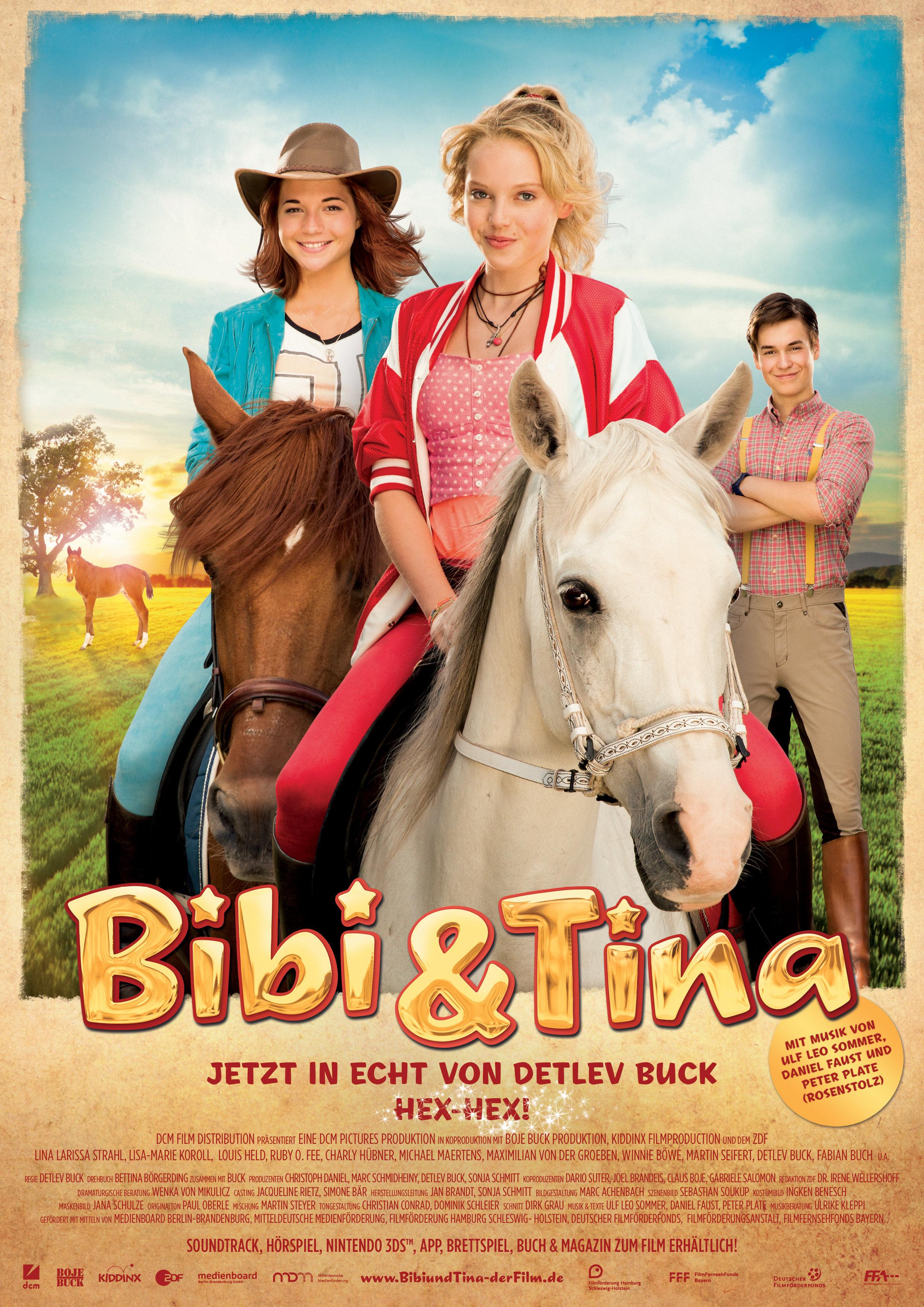 Bebė ir Tina. Sutrikę ir apkerėti (2014) / Bibi & Tina