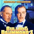 John Barrymore and John Howard in Bulldog Drummond's Revenge (1937)