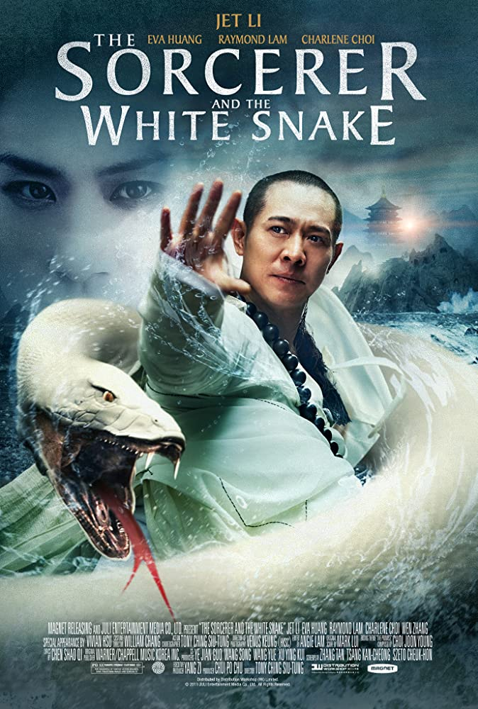 The Sorcerer And The White Snake (2011) Dual Audio Hindi 350MB BluRay 480p x264