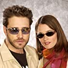 Jason Priestley and Robin Tunney at an event for Cherish (2002)