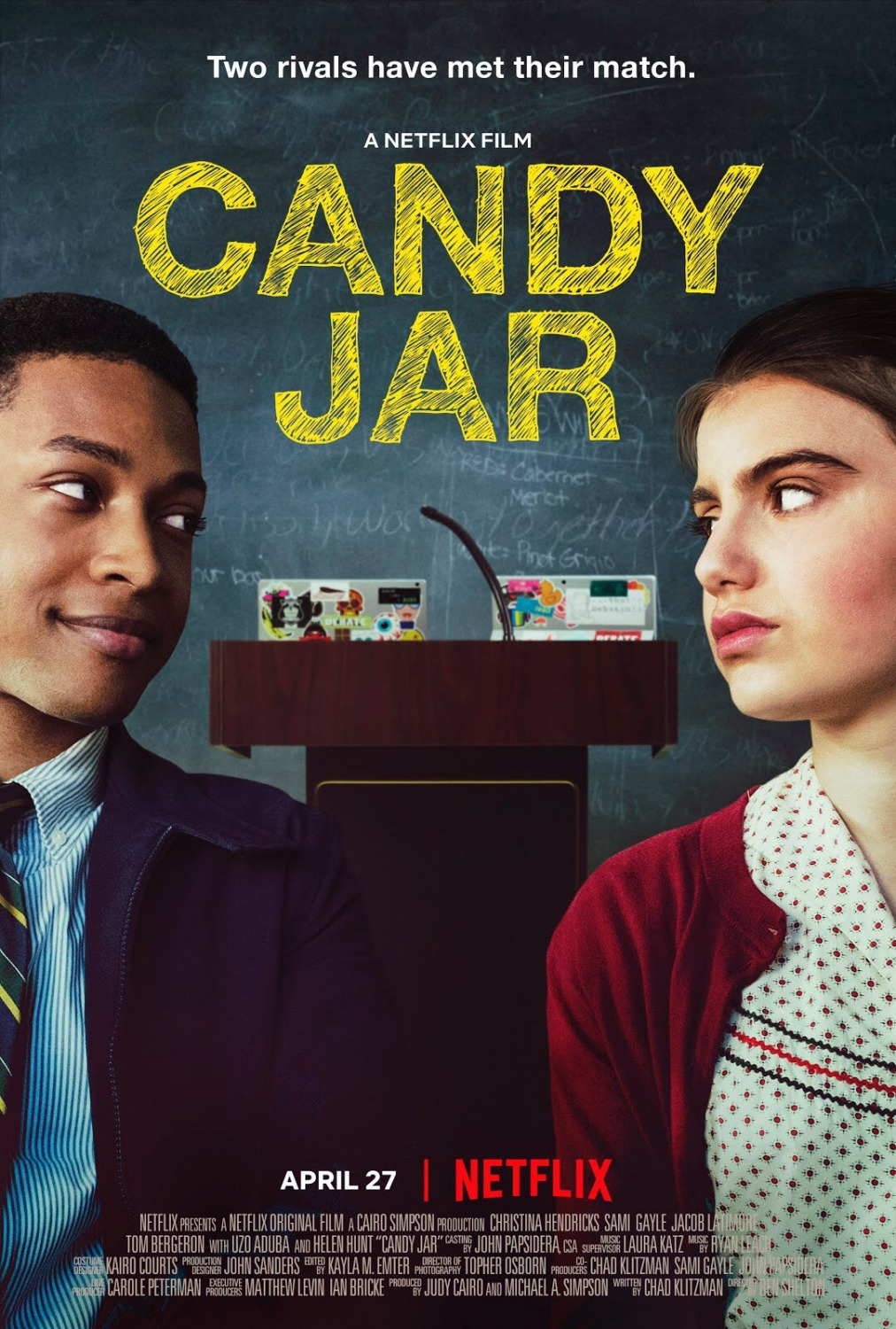 Download Candy Jar (2018) WebRip 720p Dual Audio [Hindi (Voice Over) Dubbed + English] [Full Movie] Full Movie Online On 1xcinema.com