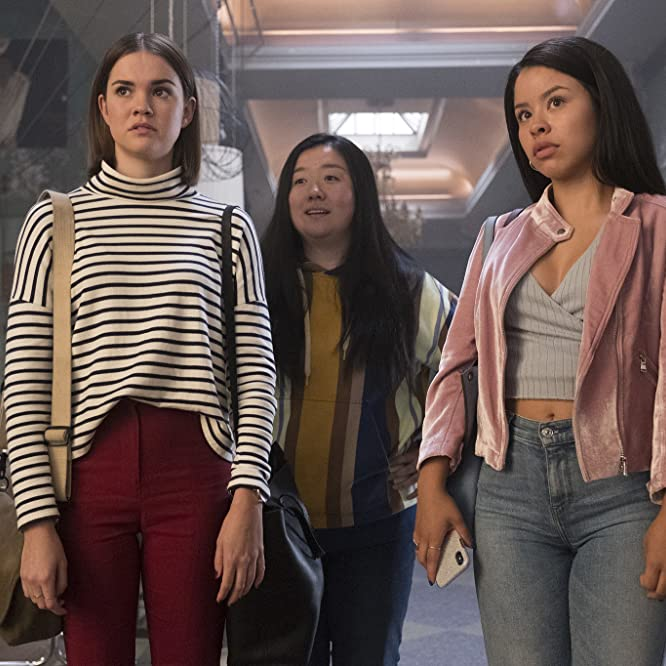 Cierra Ramirez, Maia Mitchell, and Sherry Cola in Good Trouble (2019)