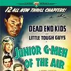 Lionel Atwill, Gabriel Dell, David Gorcey, Huntz Hall, Billy Halop, and Bernard Punsly in Junior G-Men of the Air (1942)