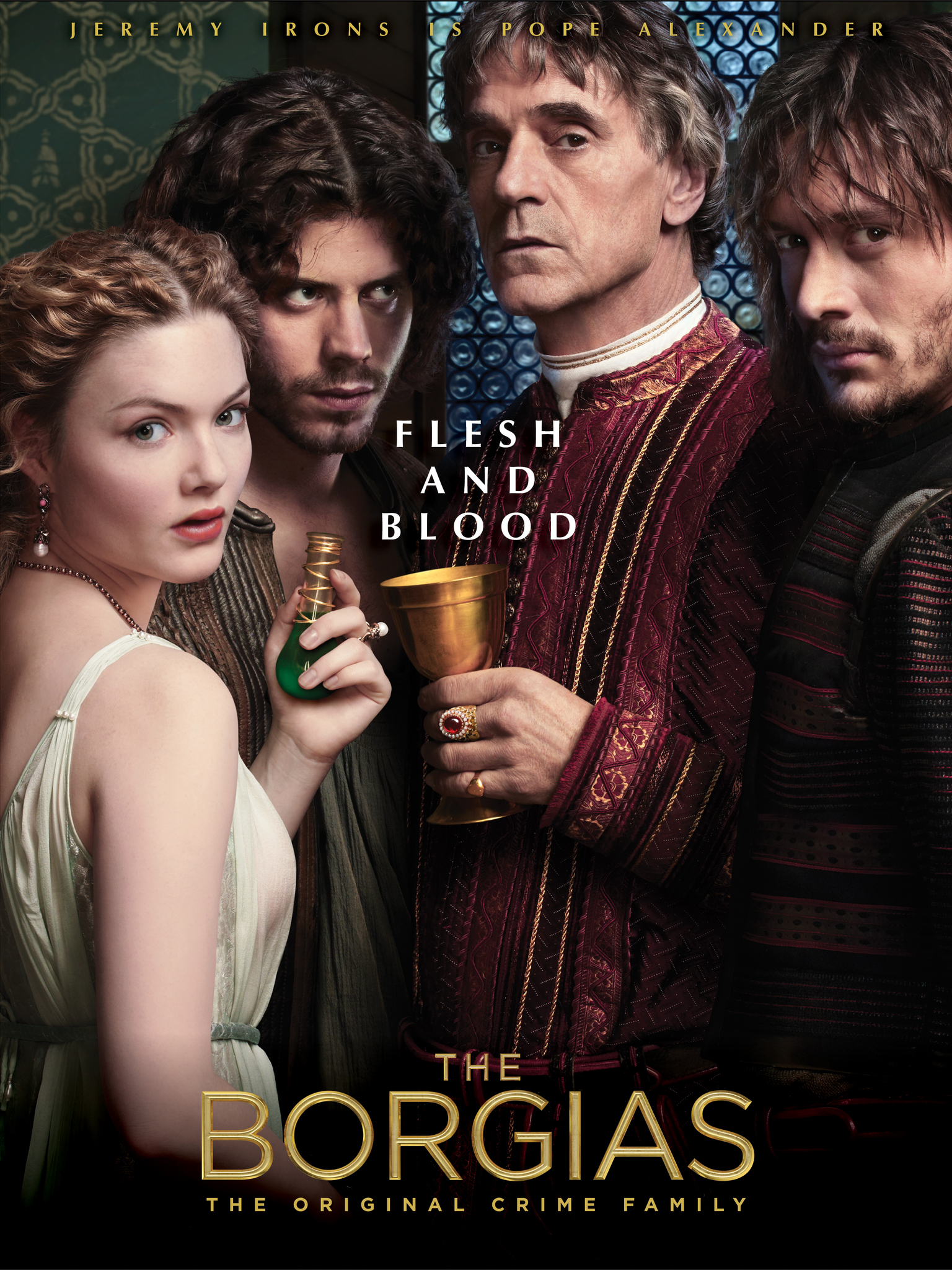 The Borgias Season 3 COMPLETE BluRay 480p, 720p & 1080p