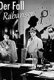 Der Fall Rabanser Poster