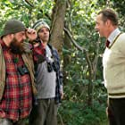 Nick Frost, Simon Pegg, and Gary Golding in Slaughterhouse Rulez (2018)