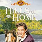 Janet Leigh and Pal in Hills of Home (1948)