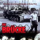 Folker Bohnet, Frank Glaubrecht, Michael Hinz, Volker Lechtenbrink, and Fritz Wepper in Die Brücke (1959)