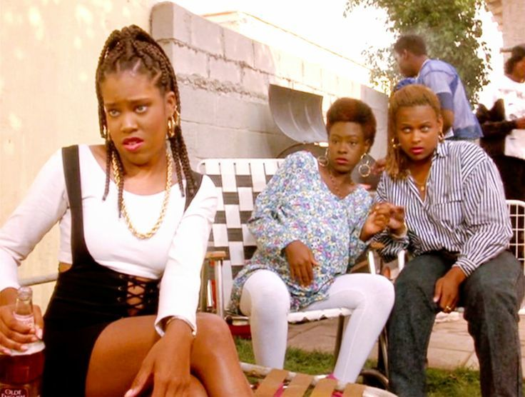 Regina King and Yolanda 'Yo-Yo' Whittaker in Boyz n the Hood (1991)