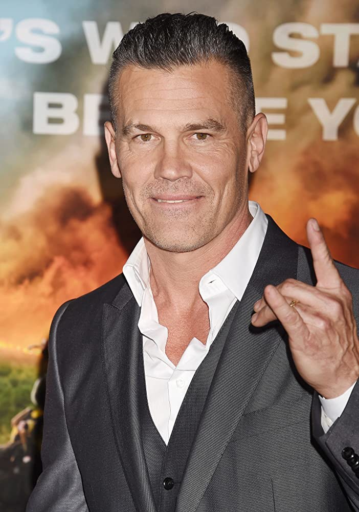 Josh Brolin at an event for Only the Brave (2017)