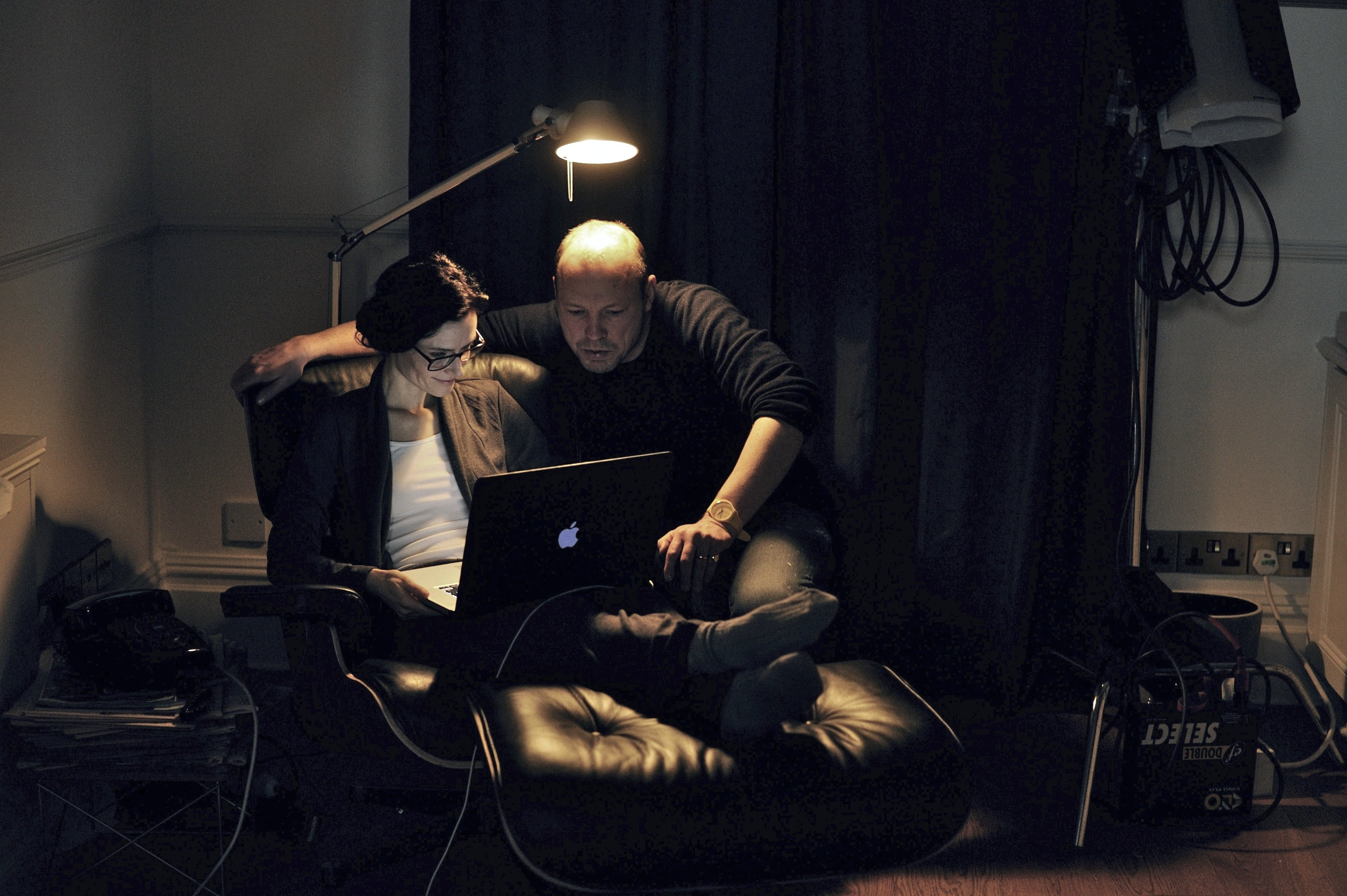 Behind the scenes - Love/Me/Do Rebecca Calder with director Martin Stitt