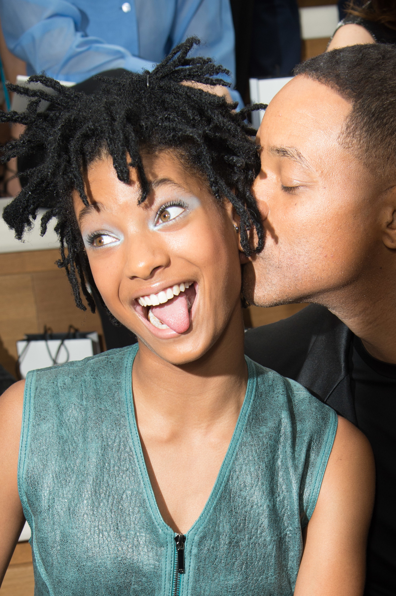 Will Smith and Willow Smith