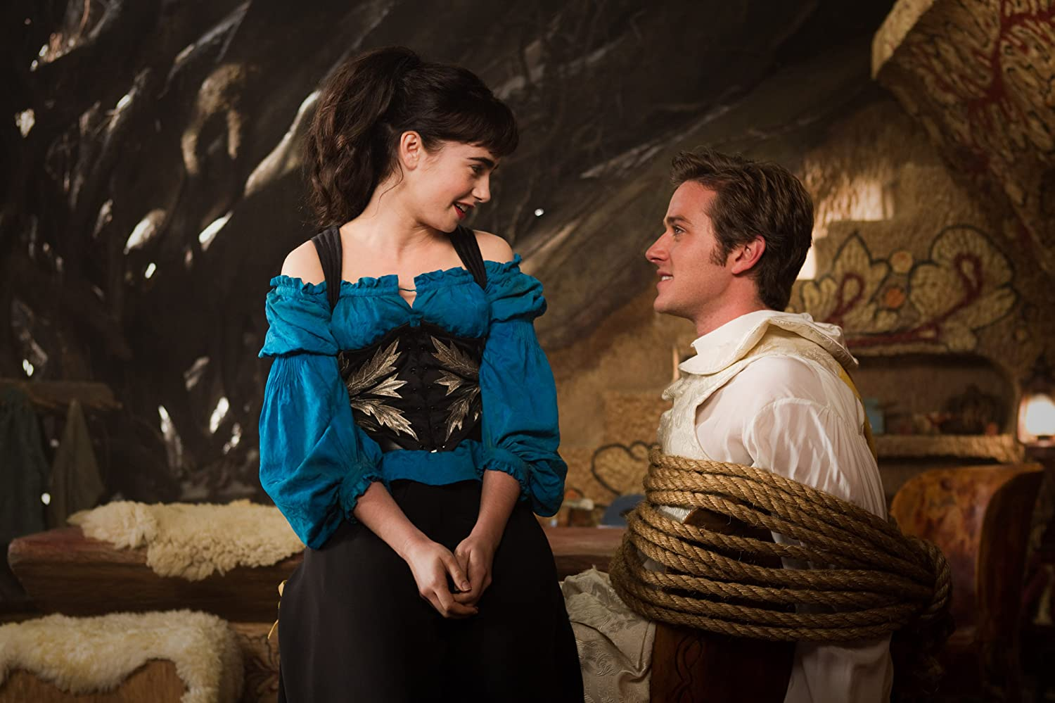 Armie Hammer and Lily Collins in Mirror Mirror (2012)