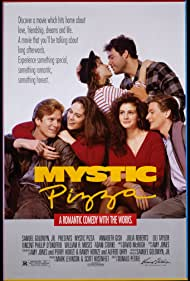 Julia Roberts, Vincent D'Onofrio, Lili Taylor, Annabeth Gish, William R. Moses, and Adam Storke in Mystic Pizza (1988)