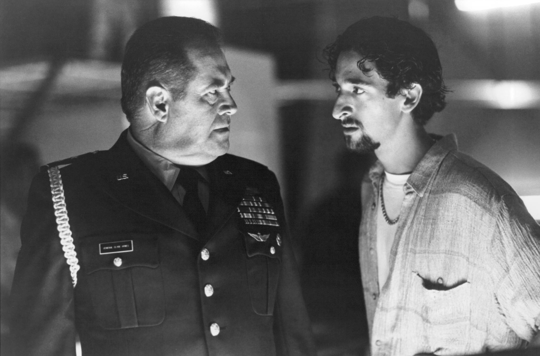 Adrien Brody and Barry Corbin in Solo (1996)