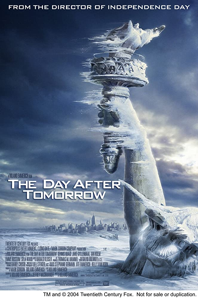 The Day After Tomorrow 2004 Hindi Dual Audio 450MB BluRay ESub Download