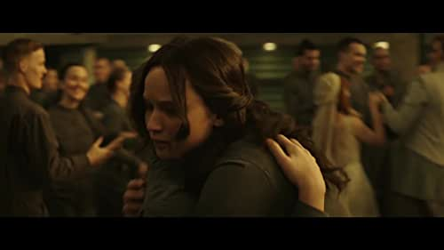 """After being symbolized as the """"Mockingjay"""", Katniss Everdeen and District 13 engage in an all-out revolution against the autocratic Capitol."""