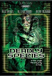 Deadly Species (2002) Poster - Movie Forum, Cast, Reviews