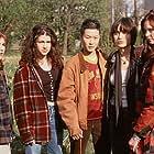 Angelina Jolie, Hedy Burress, Jenny Lewis, Sarah Rosenberg, and Jenny Shimizu in Foxfire (1996)