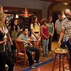 Robbie Jones, Ashley Tisdale, Paul Becker, Matt Barr, Aly Michalka, Jeremy Wong, and Alana Randall in Hellcats (2010)