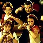 Antonio Banderas, Carla Gugino, Daryl Sabara, and Alexa PenaVega in Spy Kids (2001)