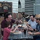 John Leguizamo, Jon Favreau, Emjay Anthony, and Aaron Franklin in Chef (2014)