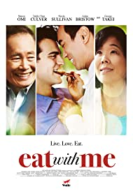 George Takei, Sharon Omi, Edward Chen, and Aidan Bristow in Eat with Me (2014)