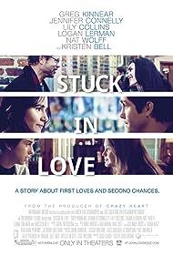 Jennifer Connelly, Greg Kinnear, Logan Lerman, Nat Wolff, Liana Liberato, and Lily Collins in Stuck in Love (2012)