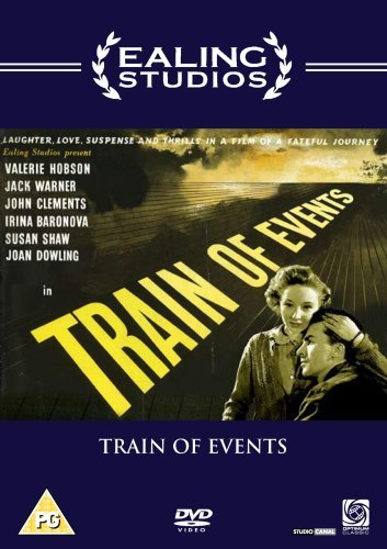 Joan Dowling and Laurence Payne in Train of Events (1949)