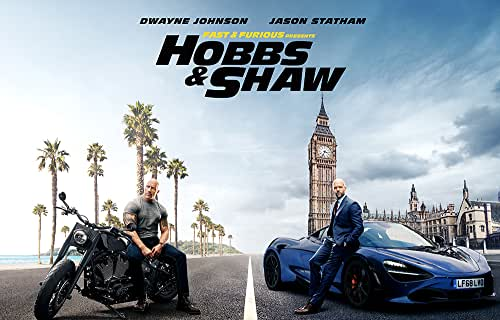 Fast & Furious Presents: Hobbs & Shaw Movie 2019