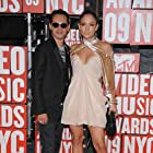 Jennifer Lopez and Marc Antony at an event for 2009 MTV Video Music Awards (2009)